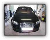 Audi A6 with paint protection film