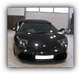 Paint protection film fitted to a Lamborghini Gallardo