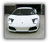 Paint protection film fitted to a Lamborghini Murcielago